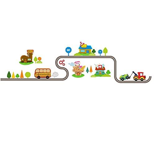 Pegatinas de pared para niños, despegar y pegar, pegatinas extraíbles para coche, para guardería, dormitorio, sala de estar, decoración de murales