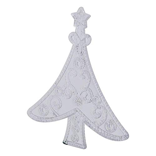 Lightweight Christmas Day Ornaments, Set of 12 LED Acrylic Hanging Decoration, Delicate Wall Decor for Bedroom Kids(Christmas Tree)