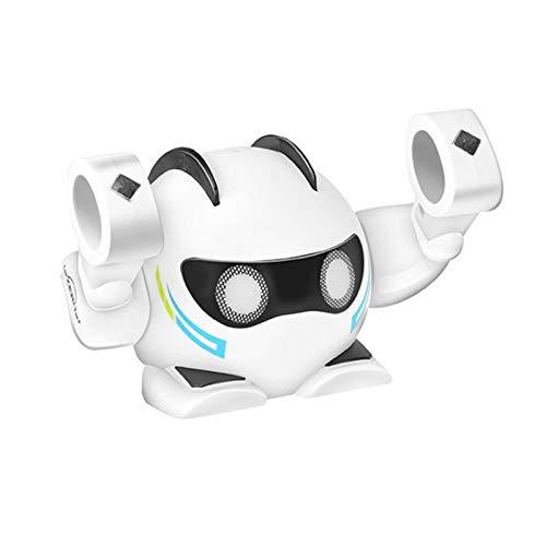 Ishine K24 robot inteligente juguete con luz suave música lindo robot juguete música juguetes inteligentes regalo de cumpleaños para niños