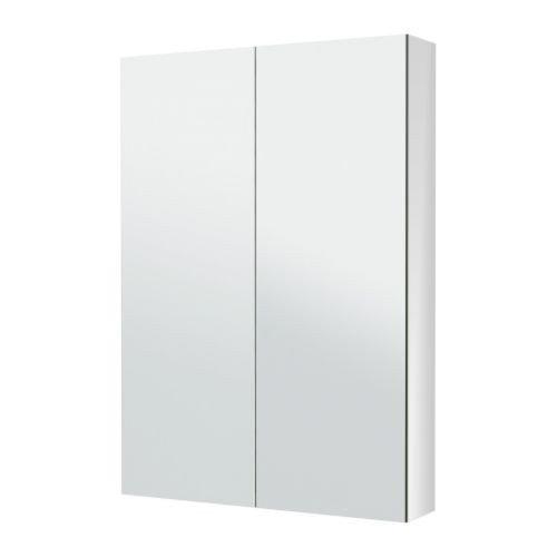 IKEA GODMORGON Spiegelschrank mit zwei Türen; (80x14x96cm)