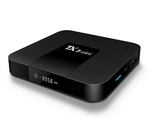YHML Media Player - TV-Box Android 7.1 Netzwerk-Player TV-Box 2G + 16G Set-Top-Box, 2.4G Dual Core, Unterstützung für MP3, AC3, DTS, AAC, APE, FLAC, WMA, WAV, OGG,US