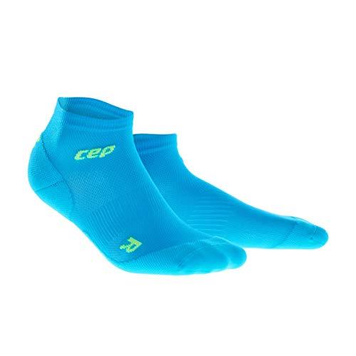 CEP - Ultralight Low Cut Socks für Herren | Dünne Sportsocken für Dein Workout in blau/grün | Größe III