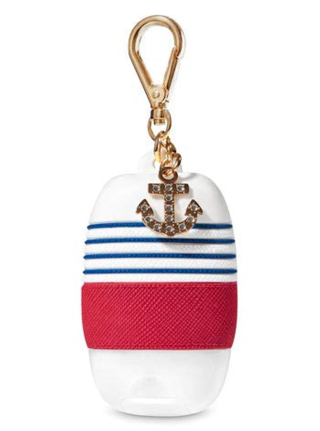 カリキュラム花弁サーフィン【Bath&Body Works/バス&ボディワークス】 抗菌ハンドジェルホルダー セーラーチック Pocketbac Holder Sailor Chic [並行輸入品]