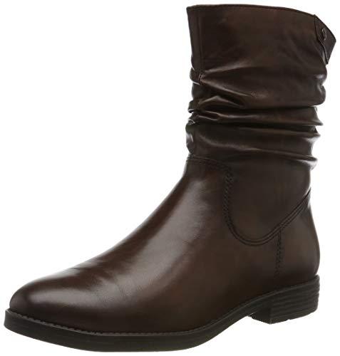 Tamaris Damen 1-1-25014-23 Biker Boots, Braun (Cognac 305), 39 EU