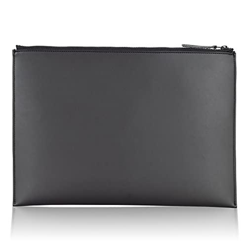 [アソボーゼ] Layer Pouch レイヤーポーチ Apple Pencilが入るiPad専用ポーチ タブレットバッグ タブレットケース iPad ケース 11インチ 10.5インチ 11 10.5 タブレット ポーチ アップルペンシル Apple Pencil (iPad、iPad Air、iPad Pro(11インチ)対応, ブラック)