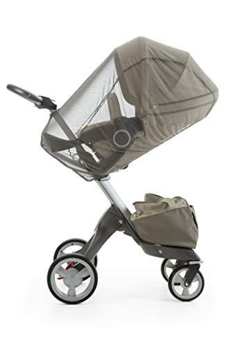 Stokke Xplory/Stroller Kinderwagen Junge mit Moskitonetz–Kinderwagen Kind mit Fliegenschutz (grau, Stokke, Stroller Xplory)