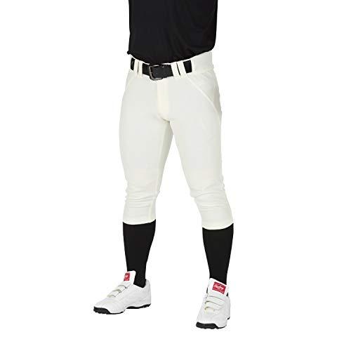 Rawlings(ローリングス) 4Dウルトラハイパーストレッチパンツ ショートフィット(マーク無し、ひざ加工なし) 野球ズボン(パンツ) 大人用 公式戦対応 APP9S01-NN アイボリー 2XO