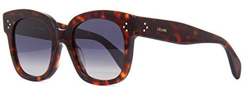 Celine Sonnenbrille CL4002UN New Audrey Farbe Havanna 54d polarisierte Gläser