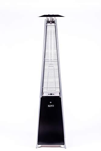 Legacy Heating Quartz Glass Tube Patio Heater, Visual Flame Heater, 40000BTU