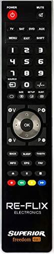 Re-Flix USB-Programmierbare Fernbedienung Remote Control für ULTRAVOX RC4