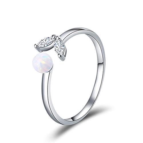 Kalrto Zeemeerminstaartring, 925 zilver zirkonia, vrouwelijk verlovingsring, eenvoudige creatieve persoonlijkheid hand sieraad, elegant sieraad cadeau
