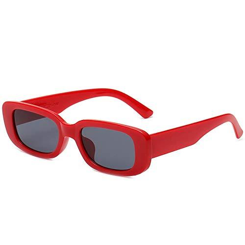 Occhiali da Sole Occhiali da Sole con Montatura Quadrata Piccola Donna Uomo Occhiali Occhiali da Vista Femminili di Lusso 6