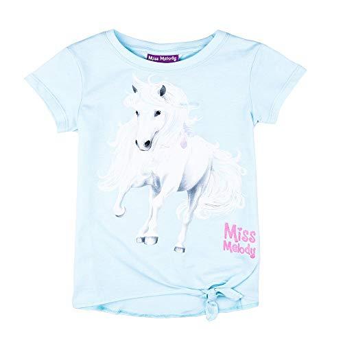 T-Shirt Bianco Miss Melody Ragazze Maglietta
