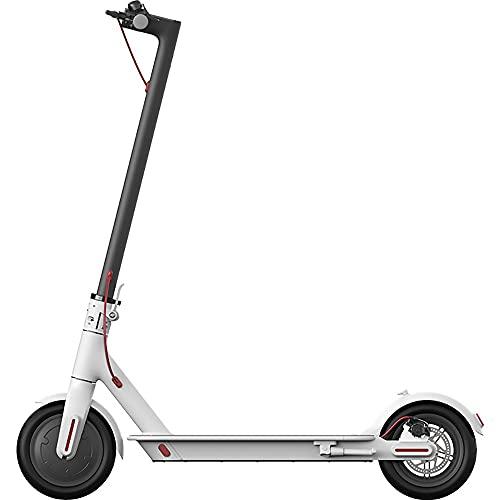JieDianKeJi Scooters eléctricos, Scooters, Scooters Plegables para Adultos, conducción de 8.5 Pulgadas y portátiles