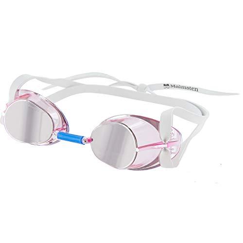 Malmsten Suecas Jewel Gafas de Natación, Unisex, Rosa