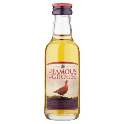 Photo of The Famous Grouse Blended Scotch Whisky Miniature – 5cl
