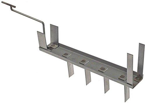 PITCO inzetstuk voor open haard breedte 150 mm hoogte 420 mm lengte 230 mm plaat