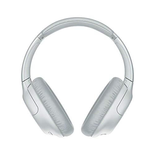 Sony Wh-Ch710N - Cuffie Bluetooth Senza Fili, Over Ear, con Noise Cancelling, Microfono Integrato E Batteria Fino a 35 Ore (Bianco)