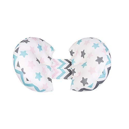 Ailelan Seitenschläferkissen Schwangerschaftskissen Lendenkissen Stillkissen Seitenschläferkissen zum Schlafen, Pregnancy Maternity Pillow mit U-Form Schwanger Komfortkissen