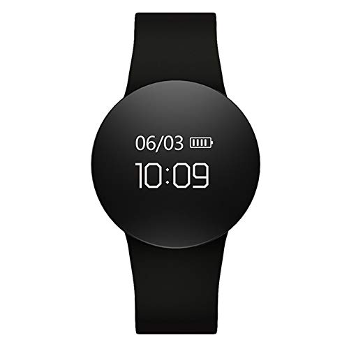 Smart Watch, IP67 Waterdichte Fitness Tracker, Hartslagmeter, Stappenteller Slaap Tracker Watch, Smart Horloge Compatibel met iPhone en Android Dames en Mannen Zwart
