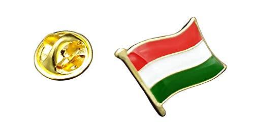 Speld vlag Mastil Hongarije 16 x 15 mm