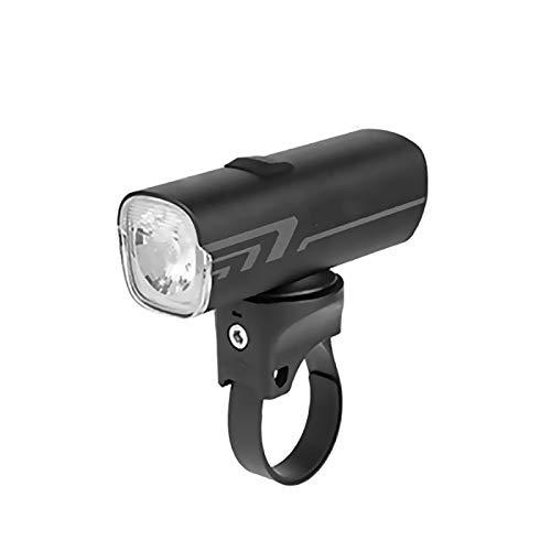 TIANkuo Bicicleta luz Impermeable USB Recargable LED 1600mAh MTB Faro Faro Aluminio Ultraligero Linterna luz de Bicicleta