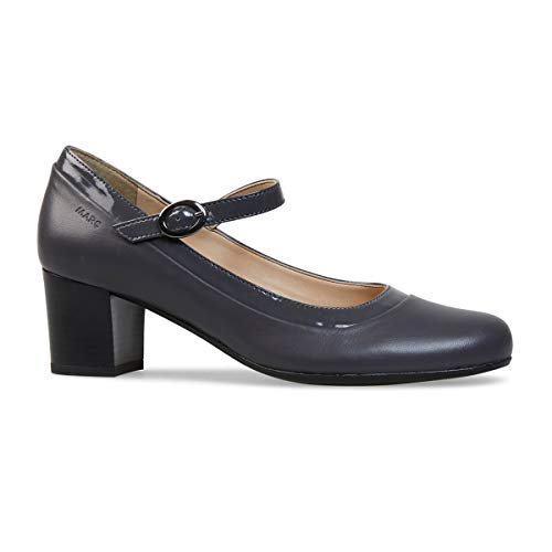 Marc Shoes Leona, Damen Pumps, Grau - grau - Größe: 38 EU
