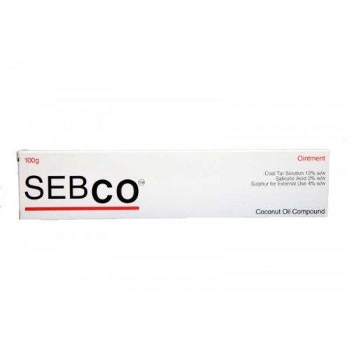 Derma UK Sebco Onguent à base d'huile de noix de coco 100 g