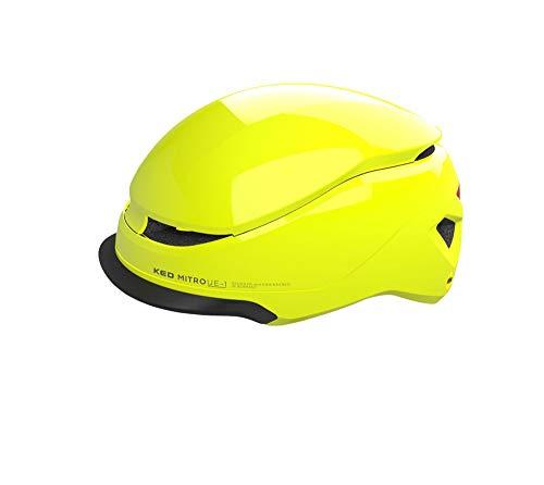 KED Mitro UE1 L - Casco para bicicleta (58-61 cm, incluye banda...