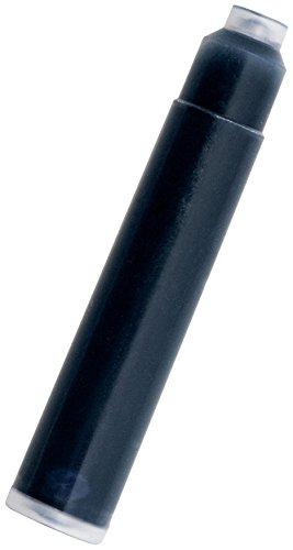 Monteverde - Cartuchos de tinta para pluma estilográfica (tamaño universal, 6 unidades), color negro y azul