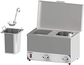 Casselin CBMSC2H CBMSC2H-Bain sauzenbraad, compact, 2 containers
