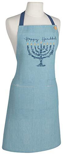 Now Designs Apr Spruce Happy Hanukkah Kitchen Apron