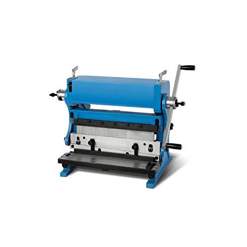 EBERTH 3in1 Abkantbank Rundbiegemaschine (Arbeitsbreite 305mm, 3 Walzen, Schneiden, Biegen und Walzen von Metallblechen, Rohren und Profilen)