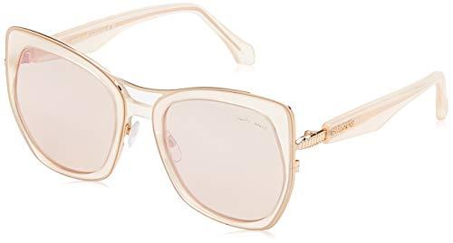 Roberto Cavalli RC 1093 72G - Gafas de sol, color rosa y marrón
