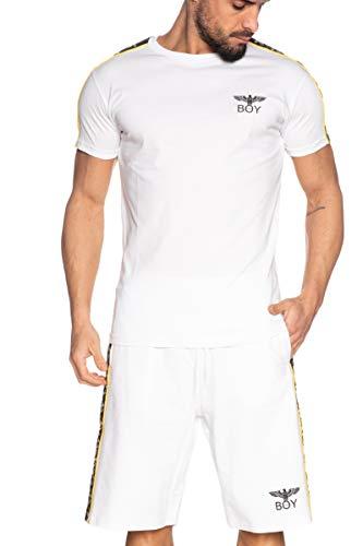 BOY LONDON - T-Shirt MC col Bianco BLU6532