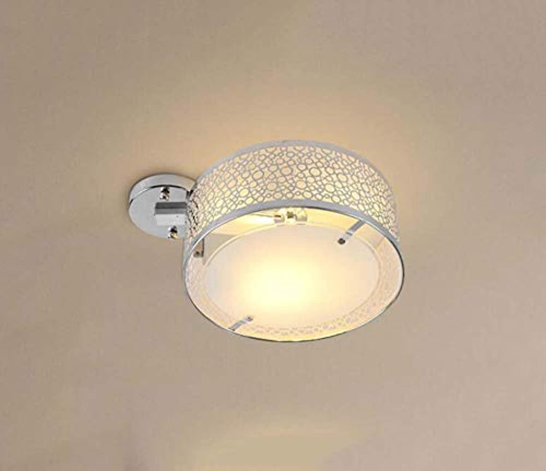 Led Deckenleuchte Lampe Modern Minimalist Aluminium Deckenleuchte Lampe Schlafzimmer Salon Balkon Küche Esszimmer Deckenleuchte Lampe, BOSS LV, Weie Luftblasen