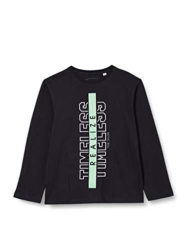 TOM TAILOR Jungen Langarmshirt T-Shirt, Vulcan|Gray, 152