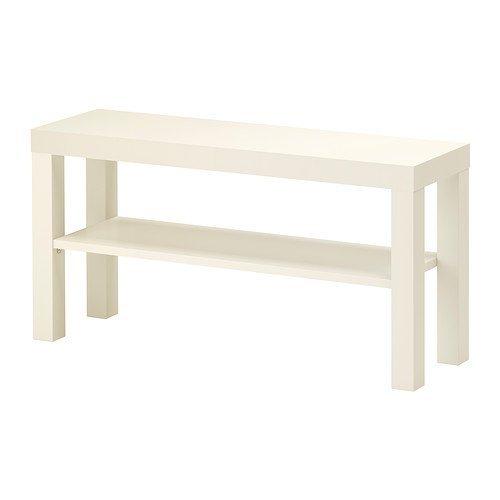 IKEA Lack - Banco de TV, color blanco, 90 x 26 cm