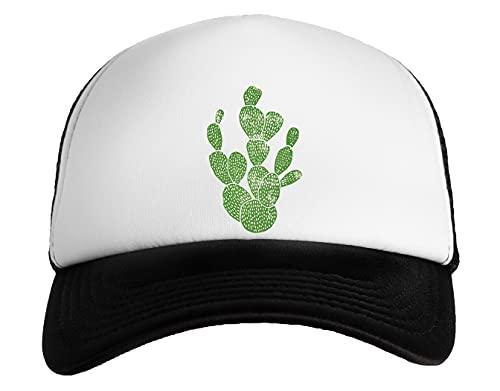 Linograbado Cactus # 1 Gorra Snapback De Béisbol para Niños