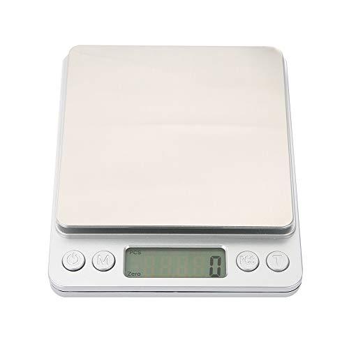 Balances de haute précision, nouvelles balances de cuisine de haute qualité, pour la maison(3KG/0.1g)