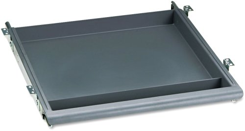 Iceberg ICE95452 Aspira High-Density Polyethylene Utility Drawer, 14' Width x 1-1/2' Height x 14-1/2' Depth, Charcoal