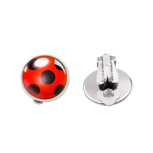 Tomlyws - Mono para disfraz de niño (6 unidades), diseño de lunares, color negro y rojo, Rojo (2 pares)., One Sizes
