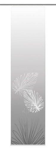 Home Fashion 86065-703 Schiebevorhang Digitaldruck Capri, Dekostoff 245 x 60 cm