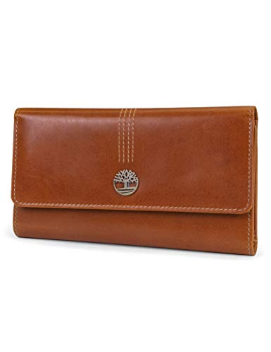 in budget affordable Timberland Leather Wallet Organizer, RFID Valve, Cognac (Buff Apache)
