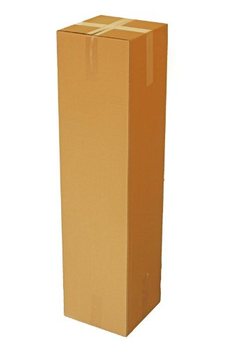 HaGa® Lot de 50 cartons d'expédition pliables 30 x 30 x 120 cm