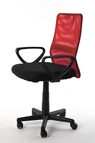 NAKURA Silla de Oficina en Tejido 3D, con Sistema de balanceo, reposabrazos Desmontables y Respaldo ergonómico.