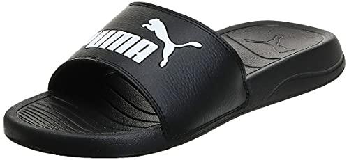 """PUMA Popcat 20"""", Zapatos de Playa y Piscina Unisex Adulto, Black, 43 EU"""