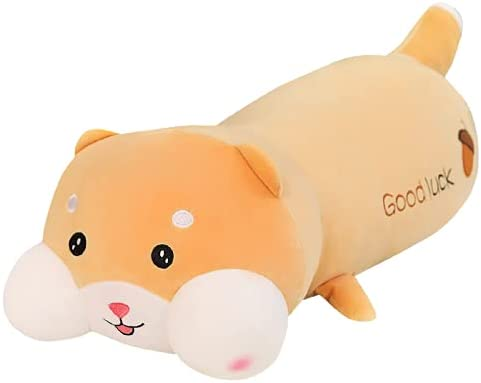 Cute Long Hyaluronic Acid Squirrel Soft Kansas City Mall Discount is also underway Pillow Brown 100cm Toy