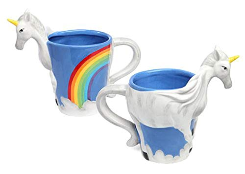 Weird unicorn mug