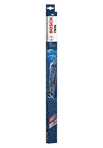 Escobilla limpiaparabrisas Bosch Twin 608, Longitud: 600mm/550mm – 1 juego para el parabrisas (frontal)